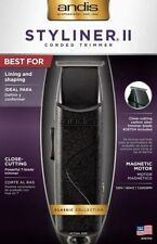 Andis Styliner II Corded Trimmer # 26700 Black Powerful T-Blade Trimmer - NEW