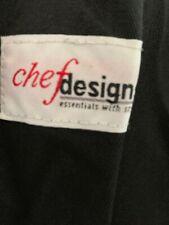 New Chef Designs Black Baggy Chef Pants 3xl