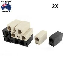 2X RJ45 Network Ethernet Cable  LAN Joiner connector