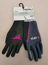 Louis Garneau Women's Gel Ex Pro winter full finger gloves Small - Purple/Black