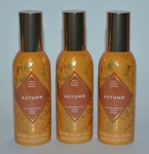 LOT OF 3 BATH & BODY WORKS AUTUMN CONCENTRATED ROOM SPRAY PERFUME MIST 1.5 OZ