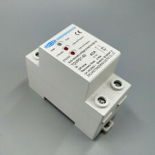 40A 230V 3 LED Din rail automatic recovery over and under voltage protector