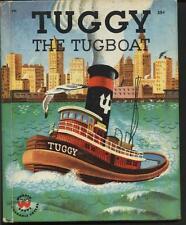 TUGGY THE TUGBOAT - Wonder Book 1958 by Jean Horton Berg