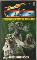 RARE: Doctor Who - The Underwater Menace. 1st edn. Target Books.
