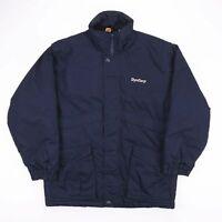 Vintage RED KAP Navy Blue Padded Heavy Workwear Winter Jacket Mens Size Medium