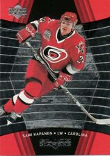 1999-00 UD Black Diamond #20 Sami Kapanen Carolina Hurricanes