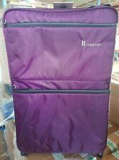 IT Luggage World's Lightest Suitcase Potent Purple Medium 69cm New