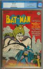 BATMAN #49 CGC 8.5 CR/OW PAGES