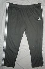 NEW! Adidas Climalite Pants Mens BIG 4X 4XL Gray (Made with No Drawstrings) NWT!