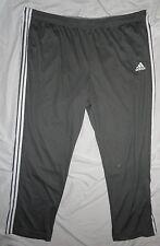 NEW! Adidas Climalite Pants Mens BIG 4X 4XL Gray (Made with No Drawstrings) NWT!