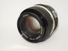 Nikon Nikkor 50mm 1:1,4 Ai Objektiv lens 24x36 (manuell an FX 750D 610D 800D)