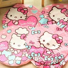 2pcs Hello Kitty Waterproof Elastic Plastic Shower Bathing Salon Hair Cap Hat