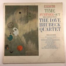 The Dave Brubeck Quartet ‎– Time Further Out (Miro Reflections) CL 1690 MONO VG