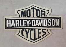 Vintage Harley Davidson Motorcycles  Cloth Embroidered Sew-On Patch.