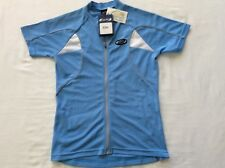 BBB Girl Comfort Cycling S/S Jersey - SS Blue - Women's - BBW-106 - Large