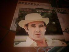 """LP 12"""" CHARLES AZNAVOUR ORAMAI....DESORMAIS SIF90002 1968 ITALY EX/EX+"""