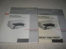 Hp DeskWriter Printer (for Apple Macintosh computers) Manual - Users Guide