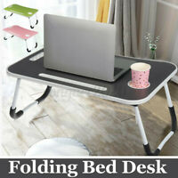 Portable Foldable Laptop Notebook Table Dormitory Stand Bed Tray Computer Desk
