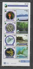 Colombia 2021 2020 birds flowers frogs whales national park sheet MNH