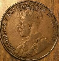 1920 CANADA LARGE CENT LARGE 1 CENT PENNY
