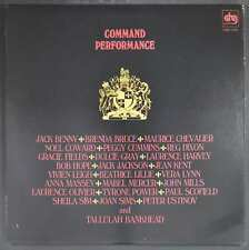 Various - Command Performance LP - Bob Hope Jack Benny Maurice Chevalier