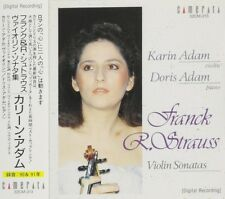 Ravel Karin Adam cd Franck & R. Strauss Violin Sonatas NEW Sealed 32CM-213 Japan