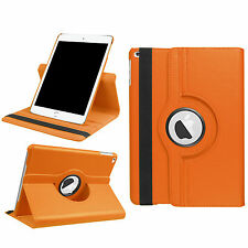Cover for Apple iPad 2017 9,7 Inch Protective Case Swivel Leather Look Wallet