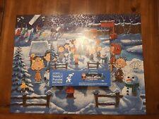 Springbok Puzzle 500-piece Vintage 1984 A CHARLIE BROWN Christmas Family Puzzle
