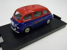 AUTO BRUMM 1:43 MADE IN ITALY DIE CAST FIAT 600 MULTIPLA 1956 BOLOGNA SHOW 1997