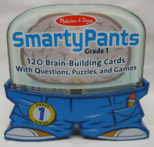 Melissa & Doug SMARTY PANTS Grade 1 Brain-Building Cards NEW Factory Sealed