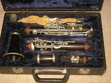 "Nice old wooden Bb (?) Clarinet 5rings ALBERT  System, ""Reisser Ulm"""
