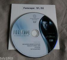 NEW Farscape Season 1 Disc 2 Replacement DVD, 15th Anniversary Edition free ship