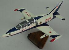 Aero L-39 Albatros Trainer Airplane Desk Display Wood Model Big New