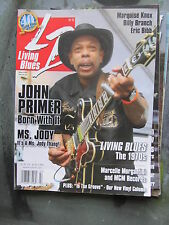 LIVING BLUES Magazine #205 (2010) JOHN PRIMER Marquise Knox Billy Branch MCM Rec