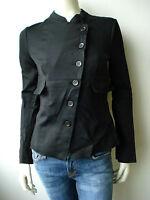 Marithé Francois Girbaud Vest Mantel Jacke Blazer 34 38 40 XS M L