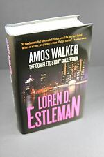 AMOS WALKER: THE COMPLETE STORY COLLECTION by Loren D. Estleman SIGNED First Ed