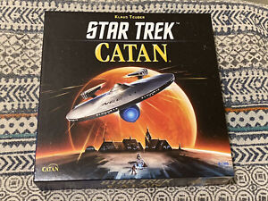 Catan: Star Trek Special Edition 100% Complete Board Game (CN3003) Ships Free!