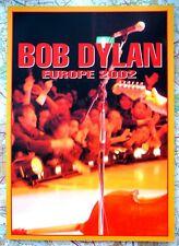 Bob Dylan Europe Tour Programme 2002 New, Old Shop Stock
