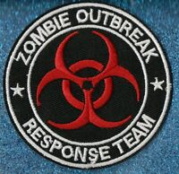 Zombie Outbreak Response Team embroidery patch