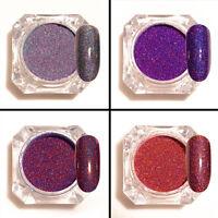 4box Starry Holographic Laser Powder Nail Art Glitter Powder Decor BORN PRETTY