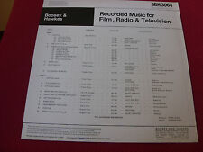 Boosey & Hawkes  SBH 3064 Cavendish Orch  NM  Library LP