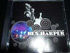 Ben Harper & The Innocent Criminals Live At The Hollywood Bowl CD EP – Like New