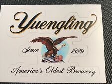 "YUENGLING BREWERY EAGLE LOGO STICKER decal craft beer brewing 4"" x 2.9"""