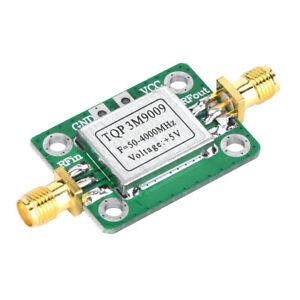 Low-noise 50-4000MHz 21.8dB RF Broadband Amplifier Amplifier LNA Module With Box
