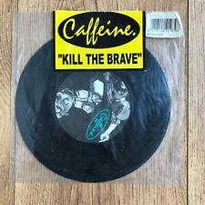 "Caffeine - Kill The Brave 7"" Vinyl Single (UK Melodic Skate Punk) RARE"