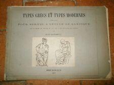 Types grecs et types modernes comparés pour servir à l'étude de l'Antique 1877