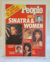 Vintage People Magazine September 22, 1986 Frank Sinatra and Women