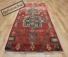 OLD WOOL HAND MADE PERSIAN ORIENTAL FLORAL RUNNER AREA RUG CARPET 203x75CM