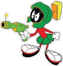 "Marvin the Martian Ray Gun 4"" x 2"" Decal FREE SHIPPING"
