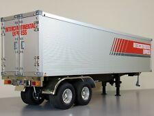 Tamiya 1/14 Semi Trailer Container +Motorize Support Leg+Light Kit +Aluminum Rim